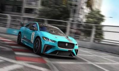 Jaguar apresenta o campeonato I-PACE e TROPHY com carros de produção elétricos