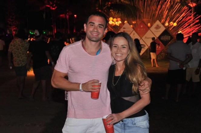 Rafael Almeida e Juliana Aragão