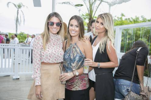 Bárbara Amin, Maria Eduarda Lima e Vanessa Lemos