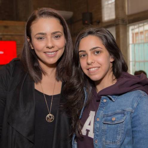 Priscila Miguel (blog By Priscila Miguel) e Giulia (blog Tá Por Onde)