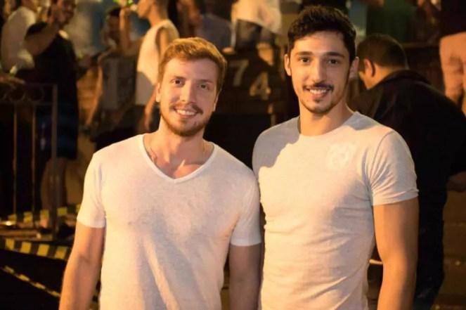 Saulo Abrahao e Luiz Ferraz