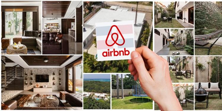 Oferta y demanda de Airbnb, Alojamientos en República Dominicana, Casas, Hoteles, Apartamentos