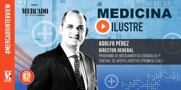 Cover entrevista Adolfo Pérez, Medicina Ilustre