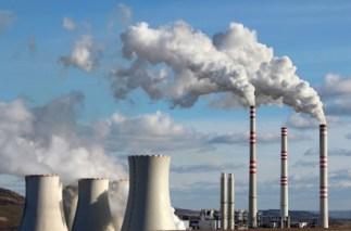 Emisión de la planta de energía de carbón en Mongolia Interior de China
