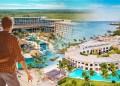 Concepto de viajero turismo inmobiliario