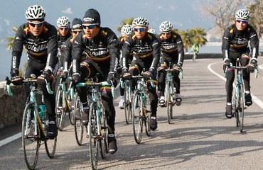 El equipo nacional en una de sus sesiones de entrenamientos