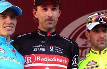 Fabián Cancellara, un nuevo podio para el suizo