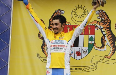 José Serpa apunta muy alto en el ya próximo Giro de Italia