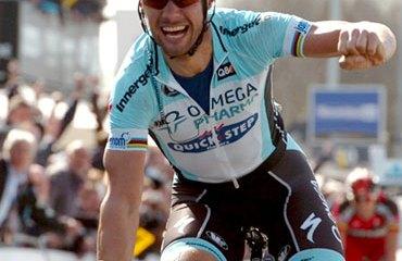 Boonen y su victoria en Flandes