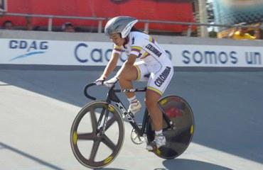 Bayona ganó medalla de oro en la velocidad