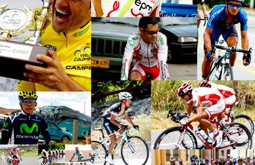 23 escuadras buscarán el título de la Vuelta a Colombia 2012