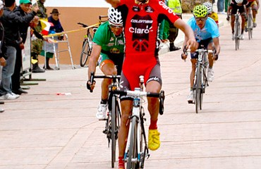 Camilo Gómez se quedó con la victoria en Tota