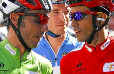 'Purito' Rodríguez junto a Contador