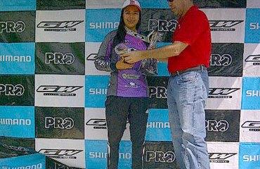 Estefanía Gómez fue la campeona en Élite