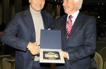 Gianni Savio junto a Cesare Prandelli