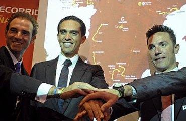 Contador, 'Purito' y Valverde