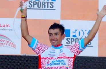Miguel Ángel Rubiano en el Tour 2012