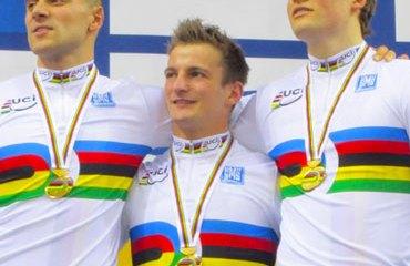 Alemania, ganó en la Velocidad por Equipos Hombres