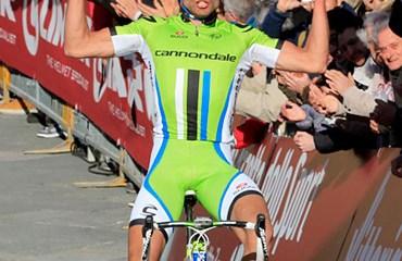 Moreno Moser y un nuevo triunfo para el Cannondale 2013