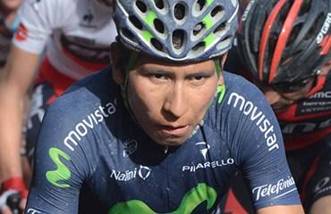 Nairo Quintana, top 15 en la París Niza