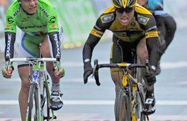 El alemán Ciolek sorprendió a los favoritos Sagan y Cancellara