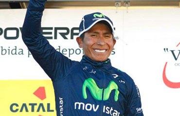Quintana y su primer triunfo de la temporada 2013
