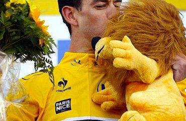Porte se vistió de amarillo líder el viernes en Francia