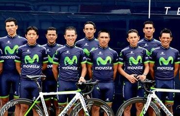El Movistar Team América, listo para Fusagasugá