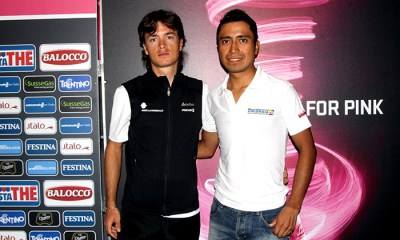 Carlos Betancur y Darwin Atapuma son dos de los serios aspirantes a llevarse la camiseta blanca de mejor joven del Giro 2013
