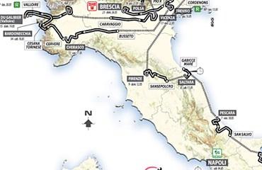 Ya está en marcha la 96ª edición del Giro de Italia