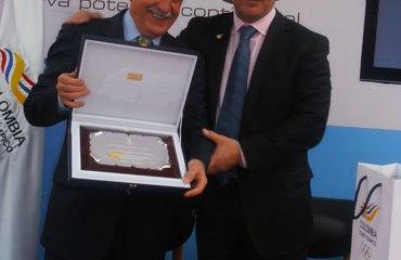 Baltazar Medina (COC) y Alejandro Blanco (COE)