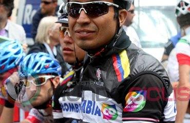 El nariñense Atapuma es el mejor corredor del Team Colombia en el Giro