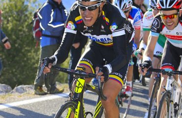 El vallecaucano Pantano, lo intentó de nuevo este miércoles en el Giro