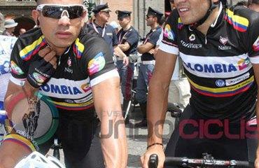 El vallecaucano Duque en el Giro de Italia