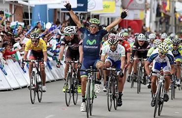 Guamá volvió a alzar los brazos en esta edición de la Vuelta a Colombia