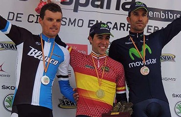 Castroviejo encabezó el podio de la CRI en España