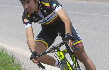 Jeffry Romero viene de hacer un buen Tour de Eslovenia