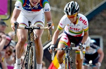 La holandesa Marianne Vos sigue al frente de la competencia