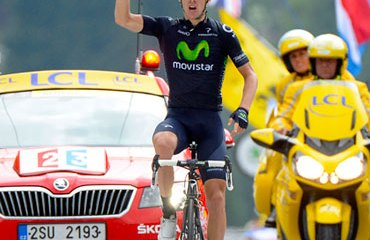 Rui Costa y otra victoria de etapa para el Movistar en el Tour