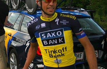 Contador fue sensación en Córcega