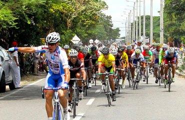 Cristian Tamayo fue el más rápido en la tercera etapa