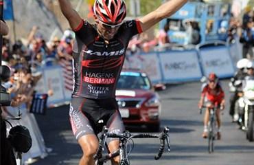 Acevedo ya fue podio en el pasado Tour de California