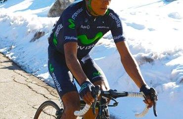 Quintana encabeza el bloque del Movistar Team en la ronda castellana