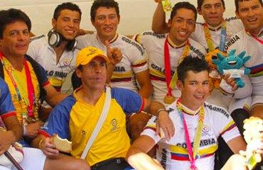 La Selección Colombia de Paracycling sale a competir en el Cánada