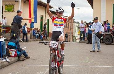 Egán Arley Bernal y su triunfo en Cogua