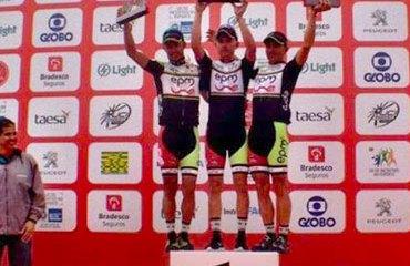 El primer podio en Rio, estuvo dominado por los hombres del Epm-Une