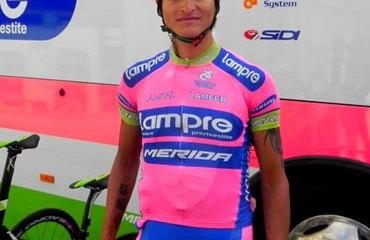 El colombiano Anacona en pleno Eneco Tour