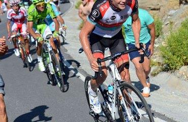 Horner en la pasada Vuelta a España que ganó con superioridad
