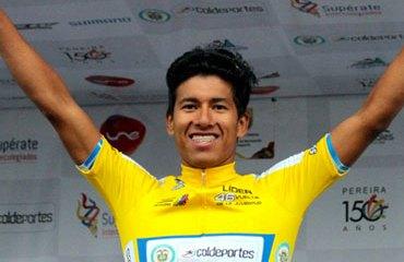 Cristian Ríos es el primer líder de la ronda juvenil