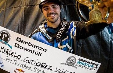 El genial piloto caldense venía de ganar el Garbanzo DH en Canadá